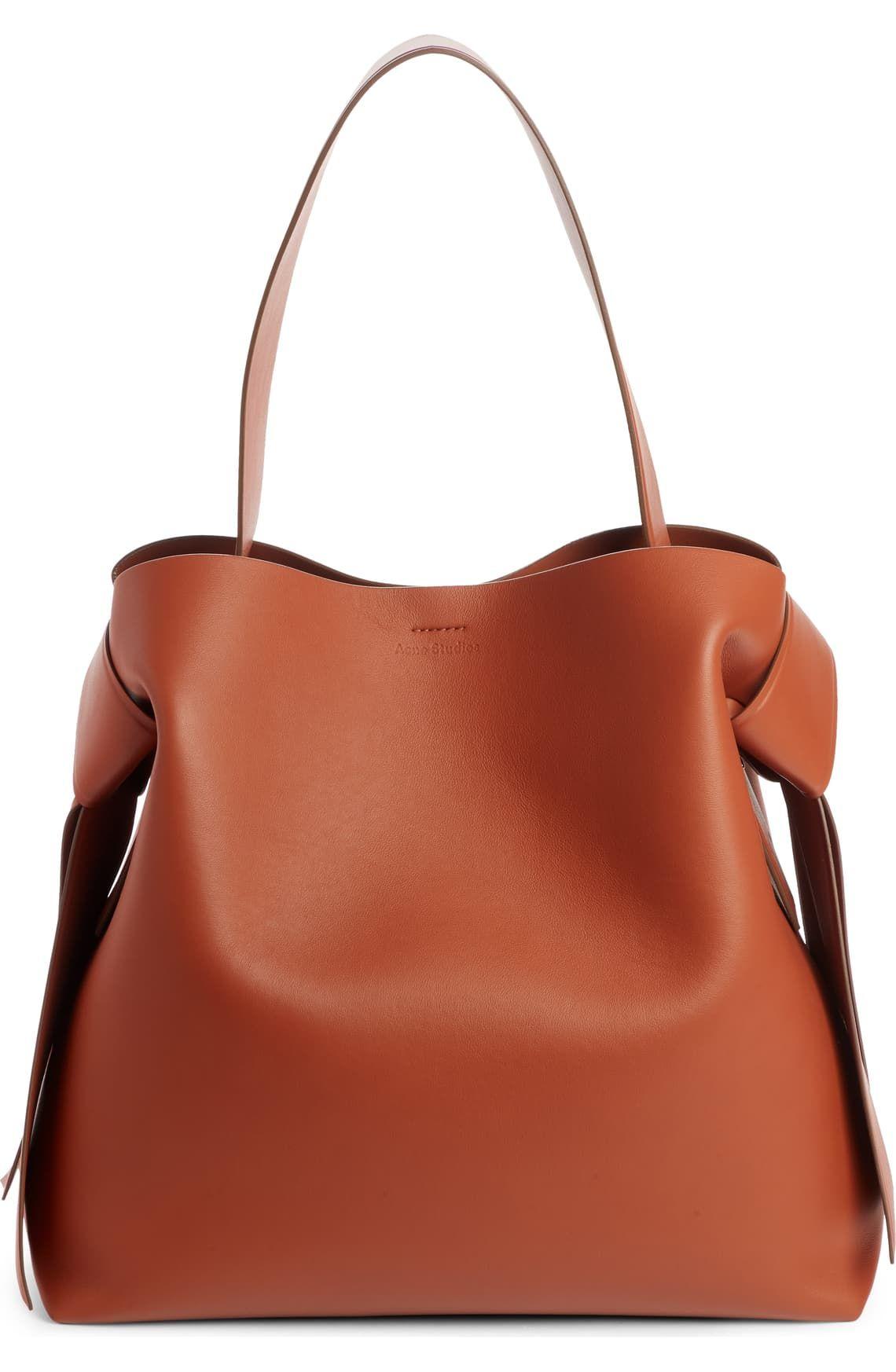 Musubi Leather Maxi bag - for minimalists