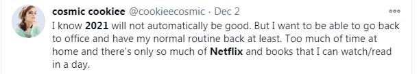Netflix - tweet