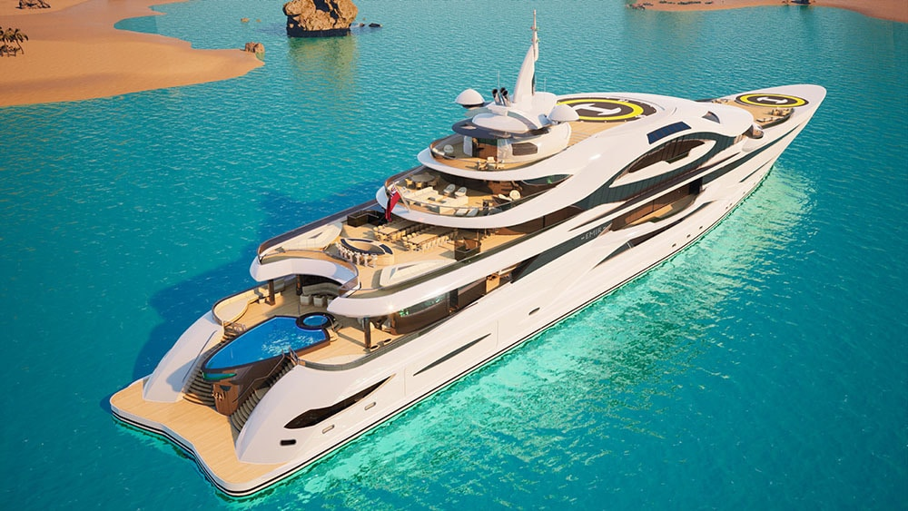 Gresham Gigayachts Amaze Every time With their Futuristic and Gigantic Vessels